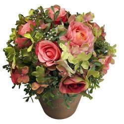 Kytica Roma succulent, MagicHome, 25 cm, flower pot - paper