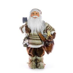 Decoration MagicHome, Santa with ax, 080 cm