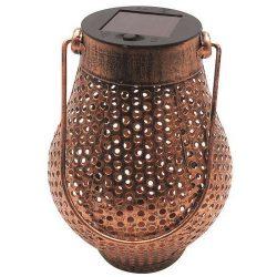 Lampas solar copper, 1 LED, 11x17cm, AAA