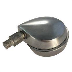 fotelgörgő fém 60 mm