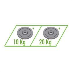 ellensúly HELIO állványhoz 20 kg
