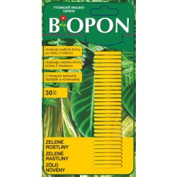 Biopon táprúd zöld növény 30db/bliszter