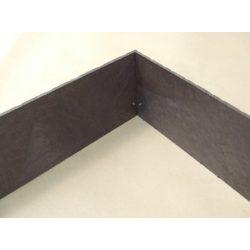 Lemezes ágyásszegélyek (1m/db) 15-20cm magasságban - műanyag