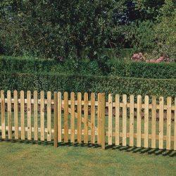 Nápoly kerítéselem - 1. osztályú fenyőből - 100 x 180 cm