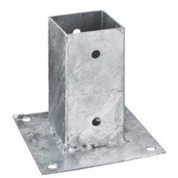 Oszloptartó - Kehely, lecsavarozható különböző méretekben