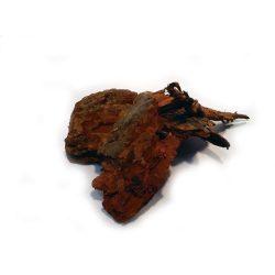 Fenyőkéreg, vörös DEKOR - nagy méret - ca 90-100L