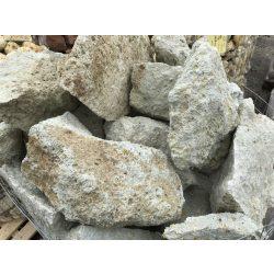 Sziklakerti kő - fehéres-zöld