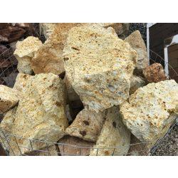 Sárga sziklakerti kő
