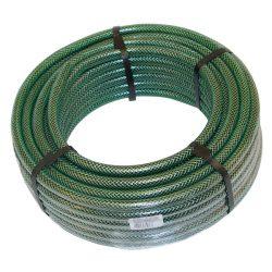 """Locsolótömlő, 1/2"""", 25m; zöld színű, 20bar, olasz, euroguip green, uv- és alga álló"""