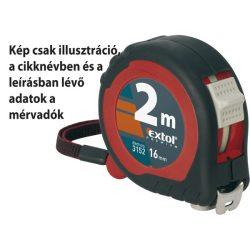 Mérőszalag, gumírozott, 2 stoppos; 7,5m×25mm