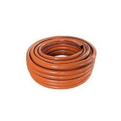 """Locsolótömlő, 2 rétegű csavarodásmentes, 1/2"""" 25 m, narancs, 110 g/m, orangeflex"""