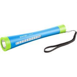 Led lámpa, 1 w+10 led, 2 funkciós; fókuszált fény, világítás oldalra, elem nélkül, 12db/kinálódoboz