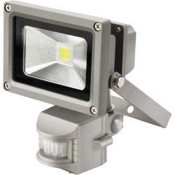 Led lámpa, falra szerelhető reflektor; mozgásérzékelővel, 10w, 650 lm, ip44, 230v/50hz