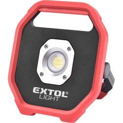 Hordozható led lámpa, elemes reflektor, 10w; 1200 lm, ip54, 0,67 kg