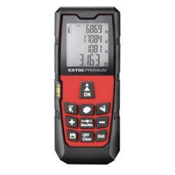 Távolságmérő, digitális lézeres; mérési tartomány: 0,05-80m, pontosság: +/-1,5mm, 98 g