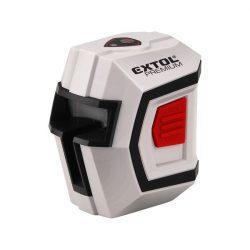 """Automatikus lézeres vízszintező, piros, 1h1v (1 horizontális+1 vertikális) pontosság:0,5mm/1m, 1/4"""" menetes"""