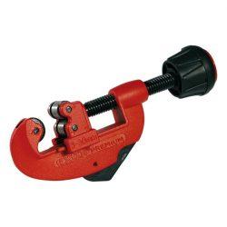 Csővágó sorjátlanítóval, 3-30mm; réz, bronz, alu, acél, rozsdamentes acél (max. 1,2mm falvastagság), műanyagok is