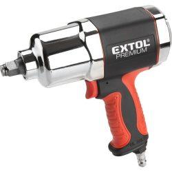 """Légkulcs, 1/2"""", 680nm, erős, 3 fokozatú (twin hammer), 7500 1/min, 142l/min, 6,3 bar, 1/4"""" tömlőcsatlakozó, 2,1kg"""