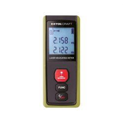 Távolságmérő, digitális lézeres; mérési tartomány: 0,05-40m, pontosság: +/- 2 mm, 64 g
