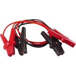 """Indítókábel pár, csipesszel (""""bika kábel"""") 200a, kábelhossz: 3m, átmérő: 8mm, keresztmetszet: 5mm2"""