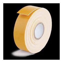 Foam Tape szivacsos kétoldalas ragasztószalag 19mmX1,5m, fehér/beltéri 320db/karton