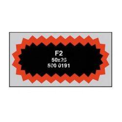 FOLTRAGASZTÓ F2/100 DB /50X25 MM/