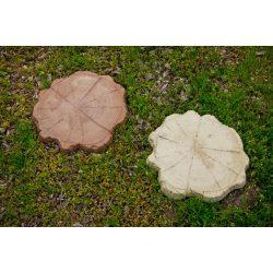 Fatörzs kerti tipegő - homok és színes változatban