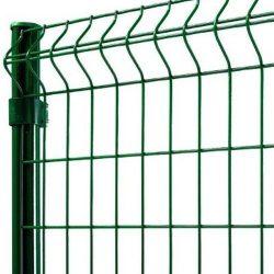 3D táblás kerítés 4-4 mm, zöld - többféle méretben
