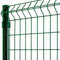 3D táblás kerítés 5-5 mm, zöld - többféle méretben