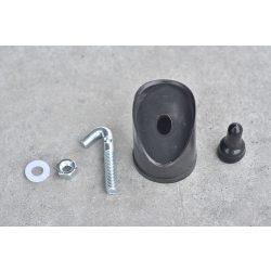 Műanyag kupak körtámasz oszlopokhoz (csavarok nélkül), (FEM300)