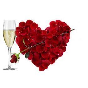 Valentin napi dekoráció