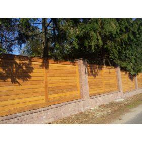 Fa kerítés rendszerek