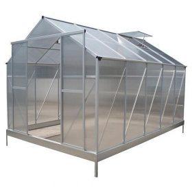 Normál méretű üvegházak, melegágyak