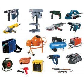 Elektromos gépek és tartozékok