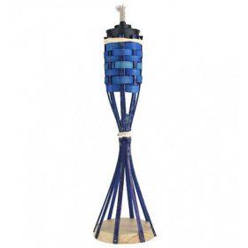 Bambusz fáklyák, olajok, kanócok