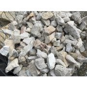 Sziklakerti kő / gabionkő 55-110 mm - fehér KICSI