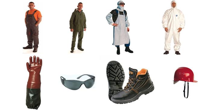 Munkavédelmi ruhák és felszerelések