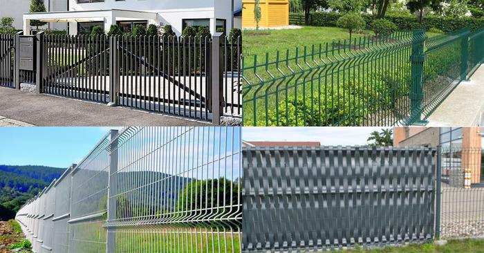 Fém kerítésrendszerek