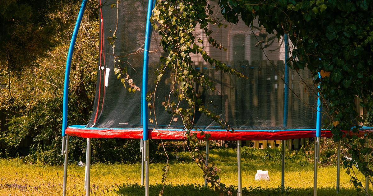 Eszközök a kerti trambulinhoz